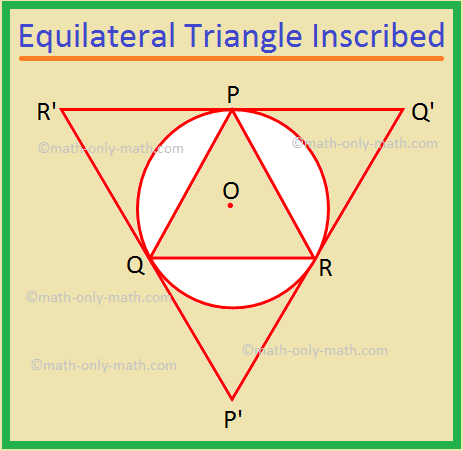 Equilateral Triangle Inscribed