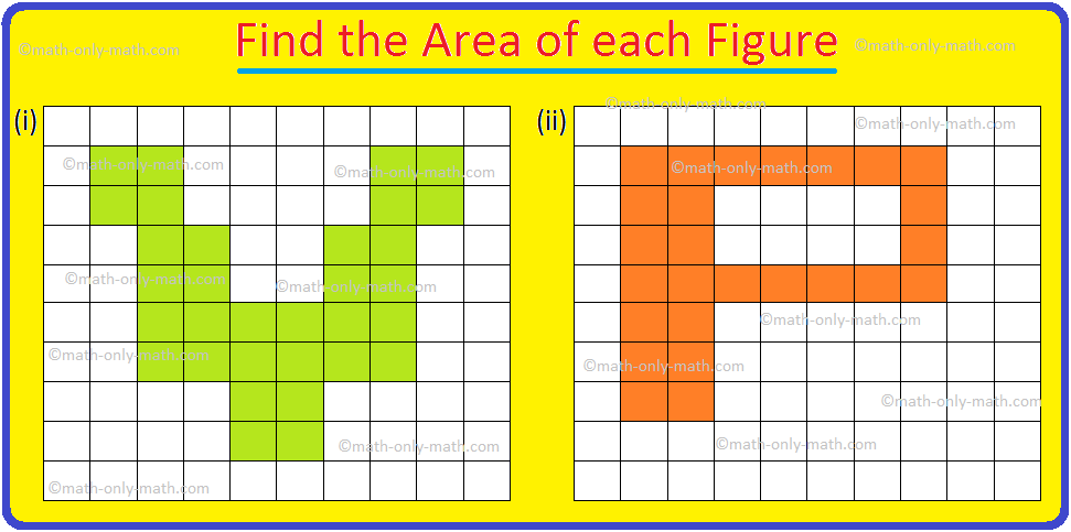 Find the Area of each Figure