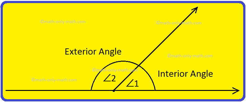 Interior and Exterior Angles