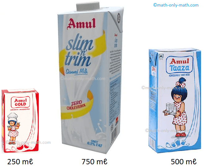 Measurement of milk