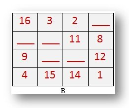 Missing Numbers Magic Square