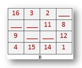 Magic Square   Add upto 15   Add upto 27  Fibonacci Sequence