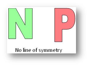 No Line of Symmetry