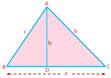 Perimeter, Area and Altitude of a Triangle