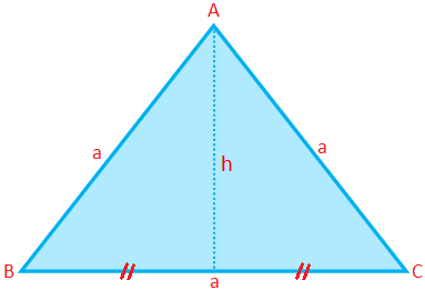 Perimeter, Area and Altitude of an Equilateral Triangle