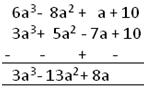 Polynomials Subtraction