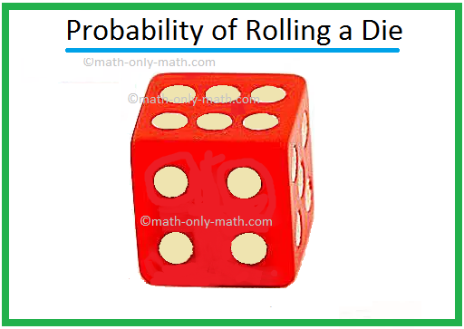 Probability of Rolling a Die
