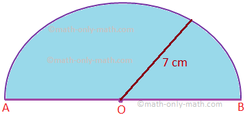 Problems on Area and Perimeter of a Semicircle