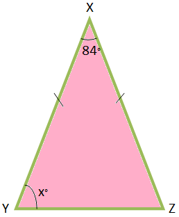 Problems on Properties of Isosceles Triangles