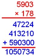 Product of the Decimal Numbers