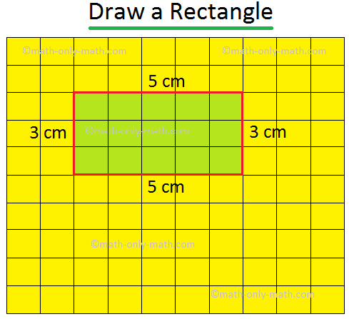 Rectangle with Perimeter 16 cm