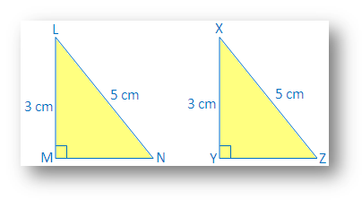 Right Angle Hypotenuse Side congruence