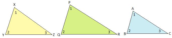 Similar Triangles Image