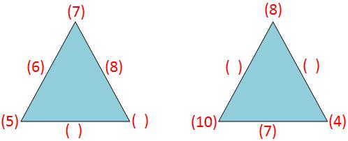 Sum of the Magic Triangles