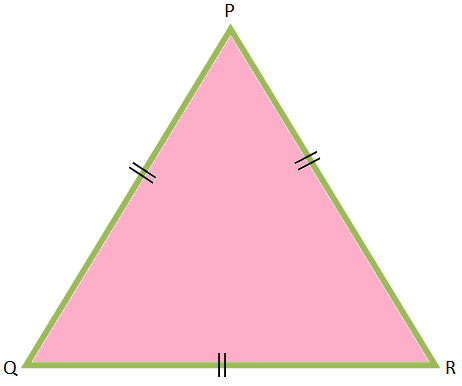 The Three Angles of an Equilateral Triangle are Equal
