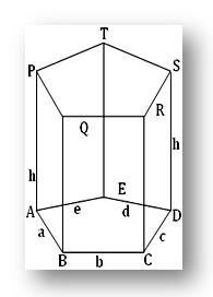 volume and surface area of prism