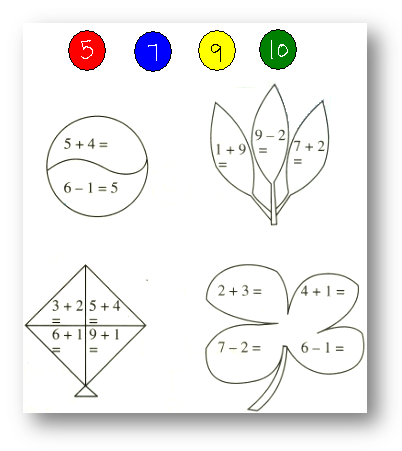 Worksheet on Add and Subtract 1-Digit Number