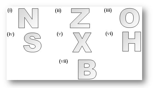 Worksheet on Linear Symmetry