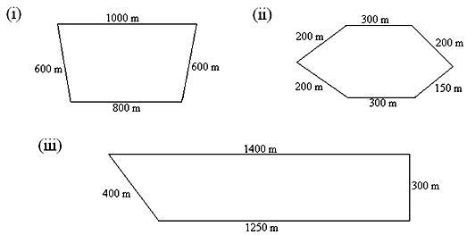 Worksheet on Perimeter of a Figure – Perimeter Math Worksheets
