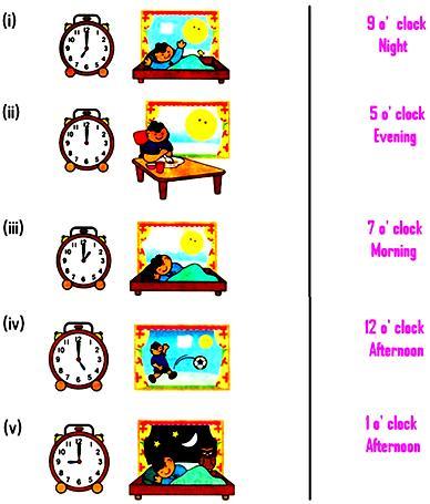 Worksheet on Time